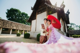 ถ่ายพรีเวดดิ้ง เช่าชุดแต่งงาน เชียงใหม่
