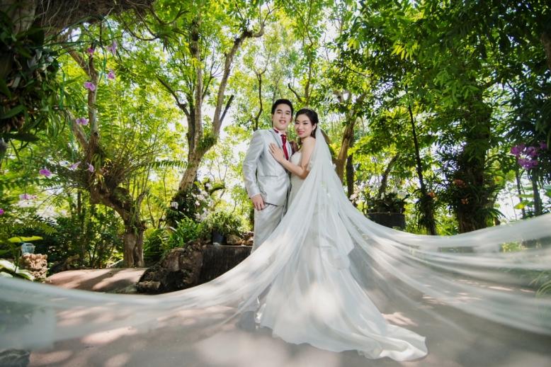 Pre-wedding Outdoor ประตูท่าแพ, พืชสวนโลก, วัดต้นเกว๋น